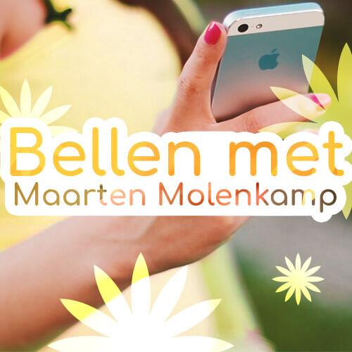 bellen met Maarten Molenkamp