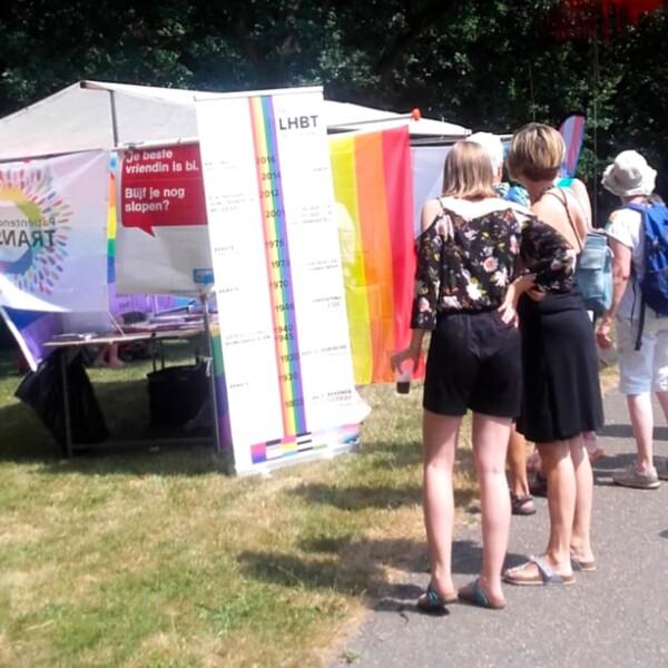 COC Zwolle op Festival OORD