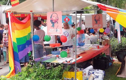 Help mee tijdens de Regenboogmanifestatie